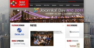 Joomla Day NYC 2011-site
