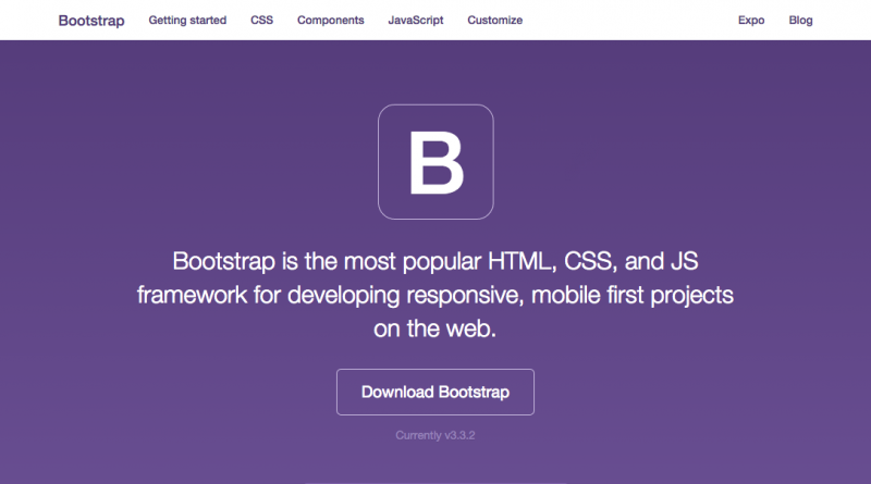 Bootstrap - http://getbootstrap.com